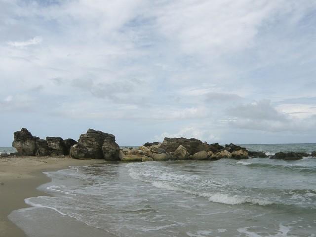 Скалы кораллового происхождения