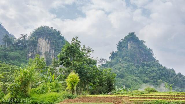 По дороге в Ванг Вьенг