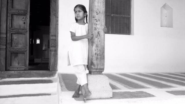 Маленькая жительница Хампи