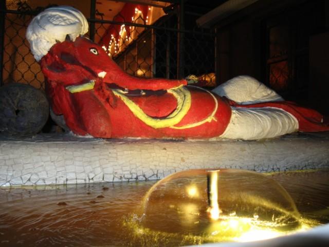 Ганеша, интерьер виллы Мангальдаса в Ахмедабаде