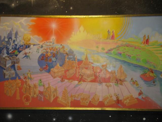 Та же лестница в 2D: сначала божества проходят Золотой и Серебряный века, потом Медный и Железный, потом всё повторяется