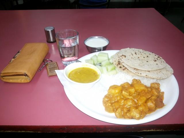 обед в хостеле