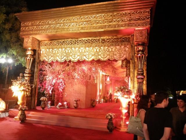 шикарная индийская свадьба