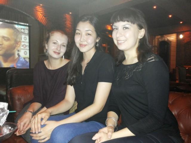 Полина, Мадина и Ксюша