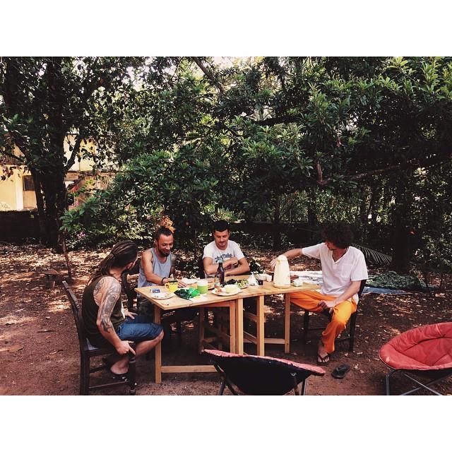 завтрак редакции в ассагао