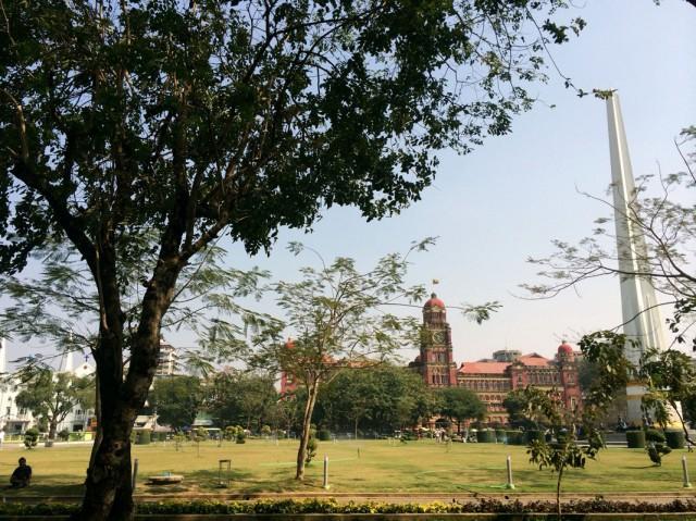 Янгон колониальный