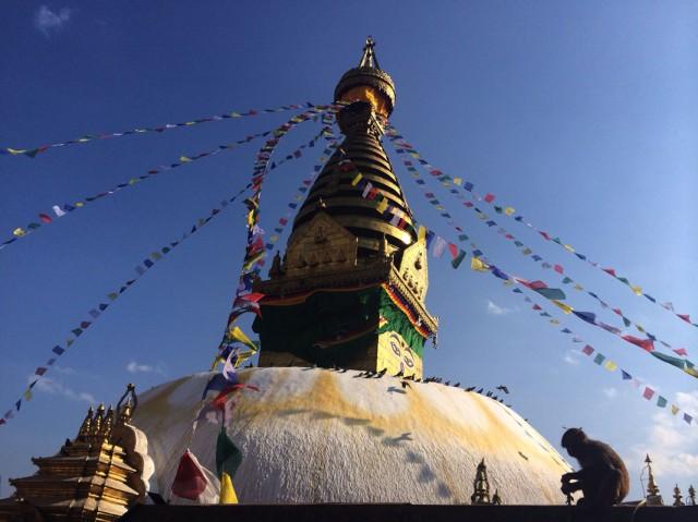 Swayambhunath Stupa 1