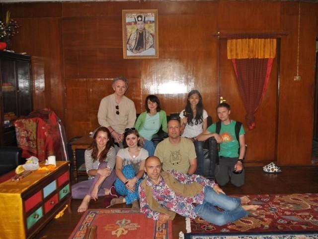 В обители Кармапы