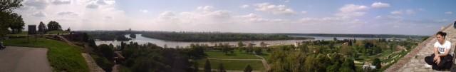 Калемегдан - панорама