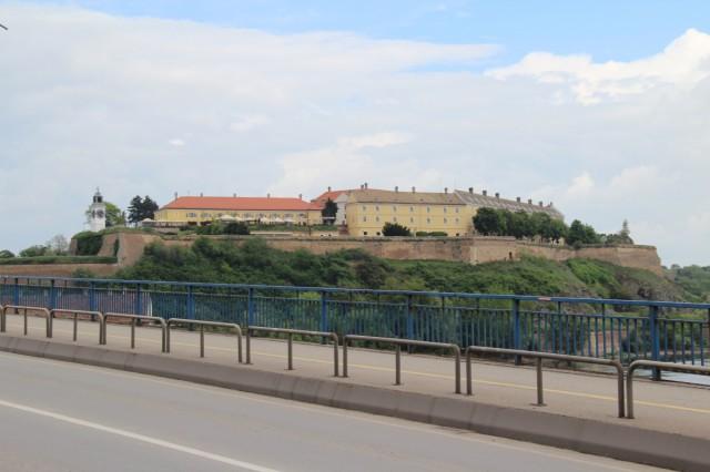 Петровардин с моста