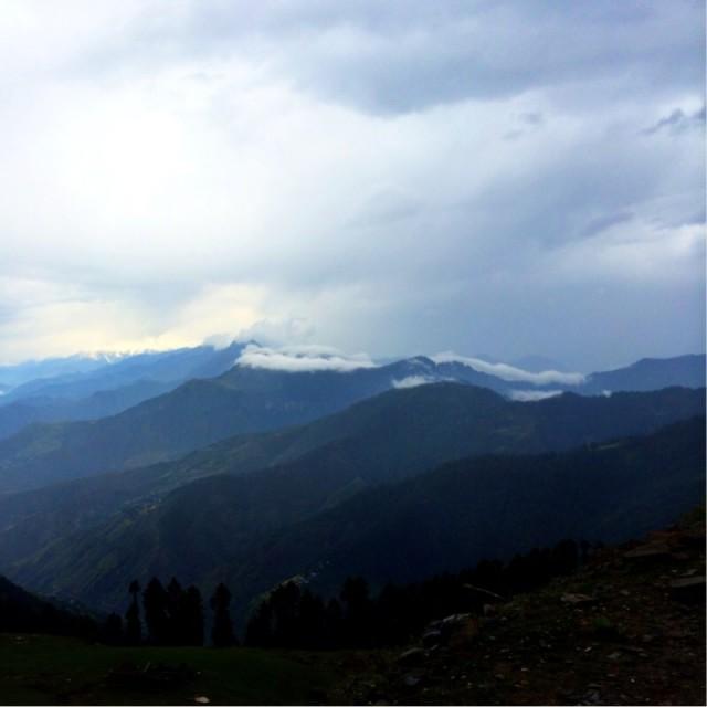 Появились горы