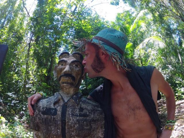 Духи, хранители этих мест...  их неумирающие сущности населяют идолов, что живут в этих местах с незапамятных времён