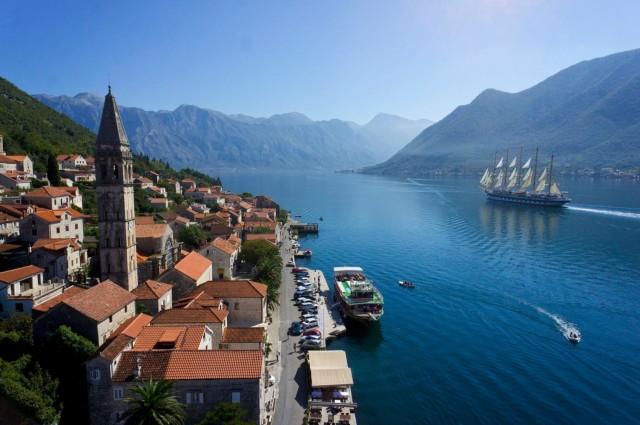 Perast. Montenegro
