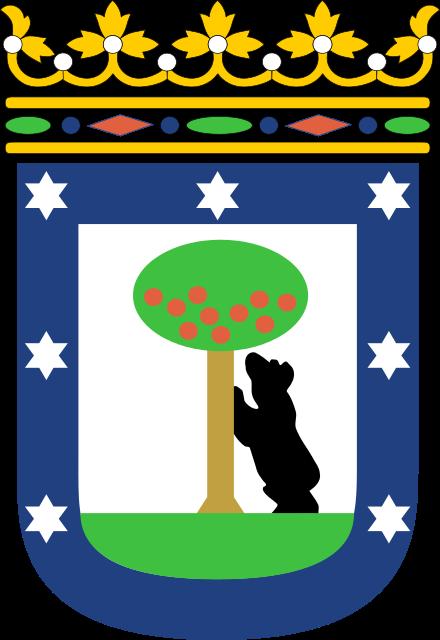 Медведь и земляничное дерево. Герб Мадрида.