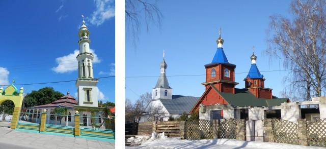 Их мечети похожи на наши православные церкви. Когда индонезийцам показывал фото церквей, они восклицали: О! Вы тоже мусульмане?
