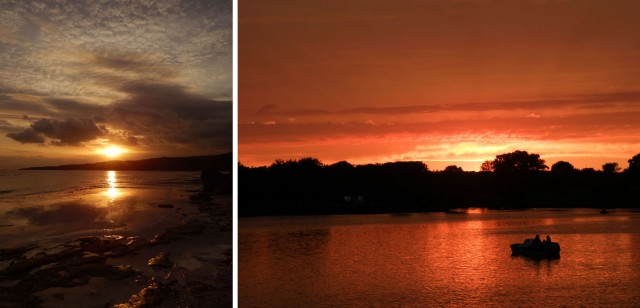 А закаты везде красивые...