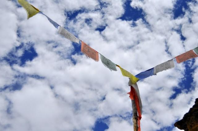 Растянутые флаги