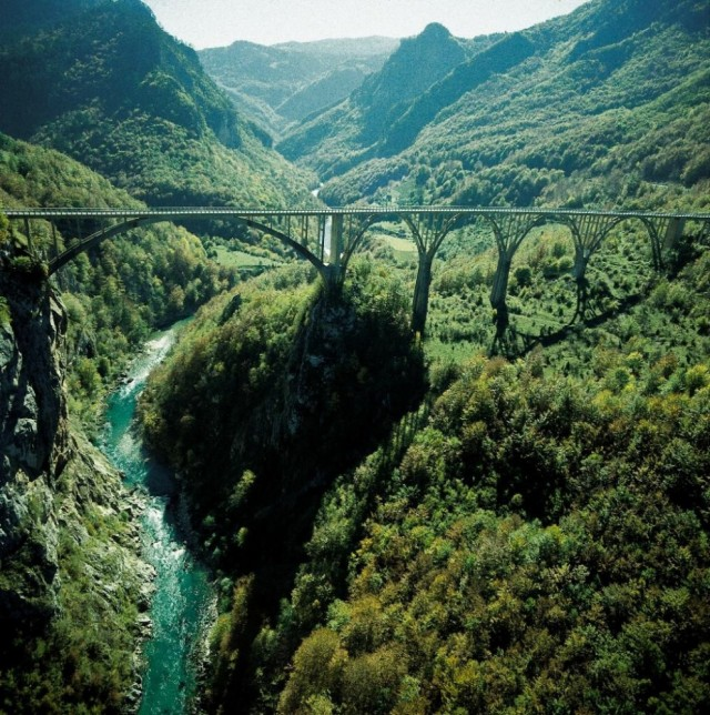 Каньон реки Тары