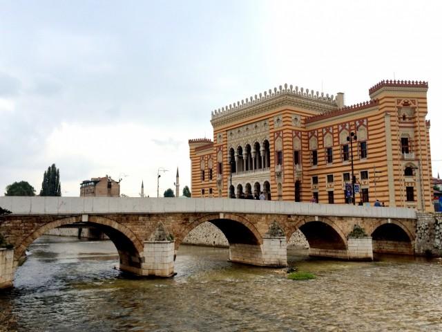 Городская ратуша в мавританском стиле