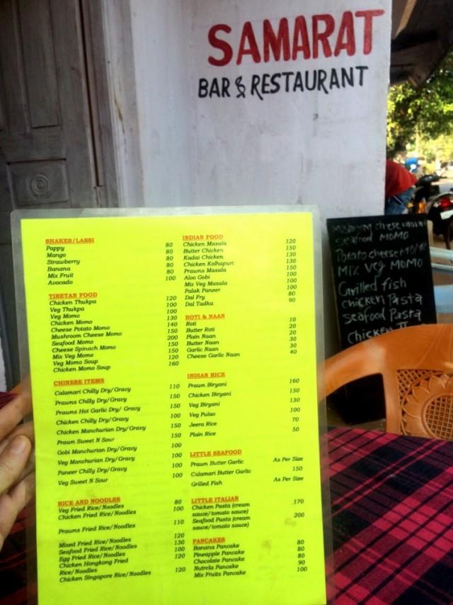 Samarat Bar&Restaurant
