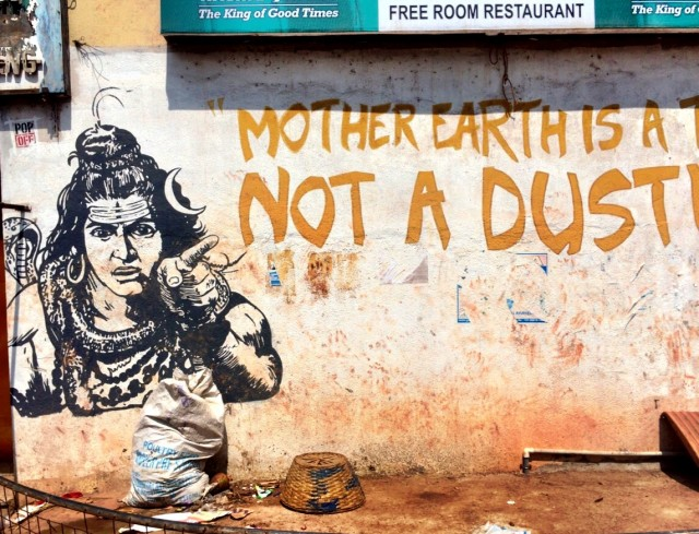 Mother Earth is a Temple, not a dustbin!