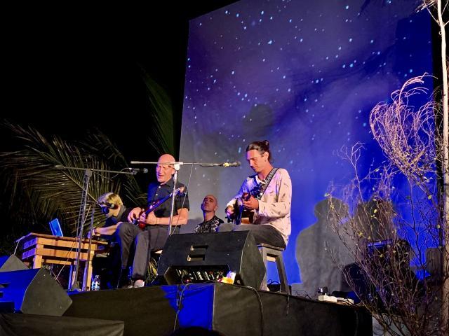 Концерт под пальмами
