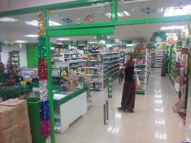 В Тиру есть супермаркет