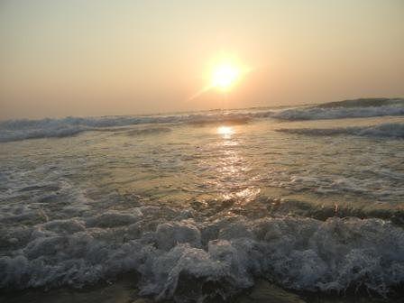 День первый - знакомство с океаном