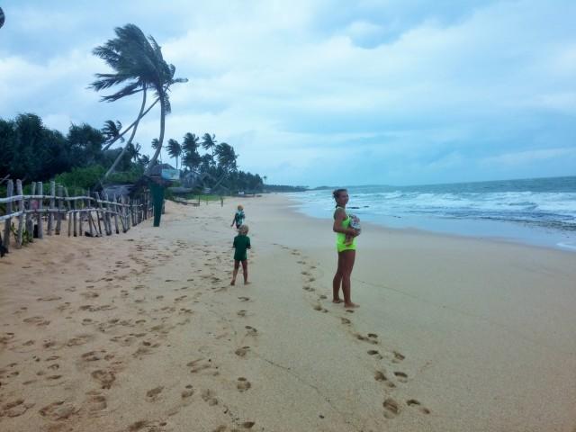.Пляж Тангалле (Tangalle beach)