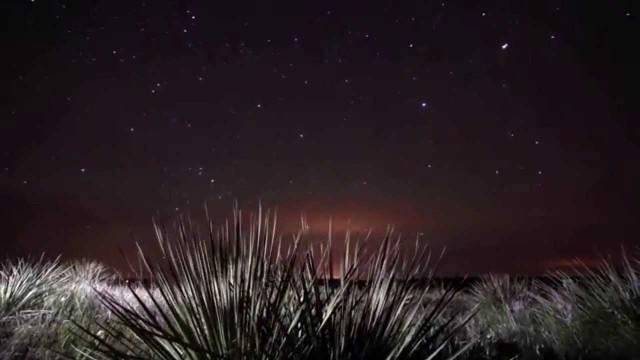 Звездное небо над степью