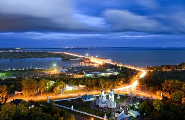 Новосибирская ГЭС. Фото не мое, просто очень нравится