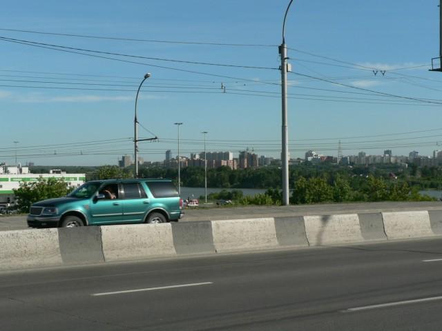Примерно таким запомнился мне Новосибирск