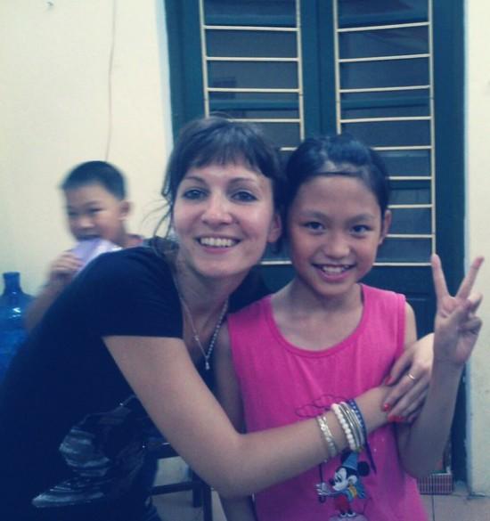 Phuong Thuy - одна из уже многих, кого я знаю по имени