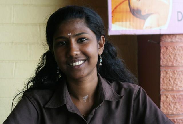 девушка из Кералы