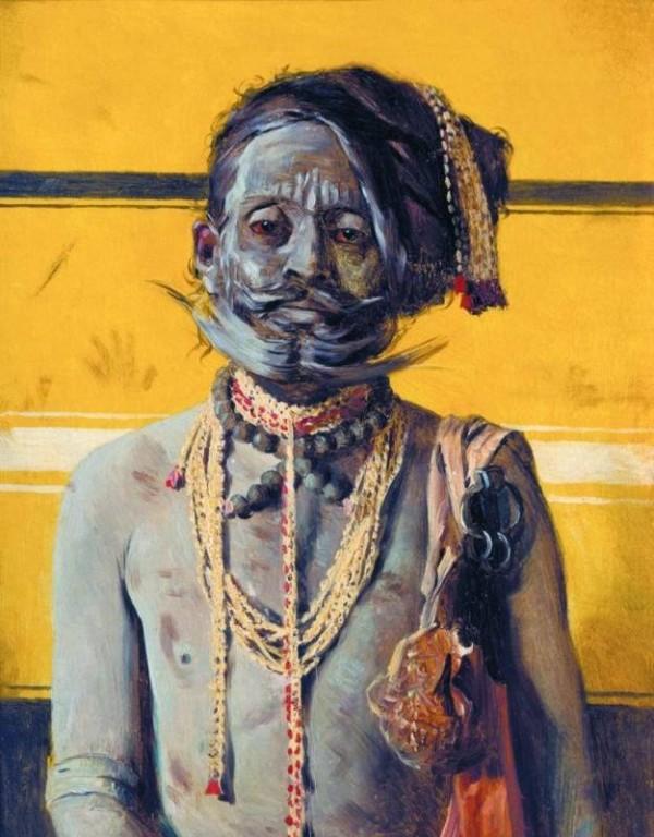 Индийский факир. 1874-1876