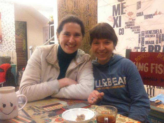 Мы с Катей в гостях у Свати и Винита в Гургаоне