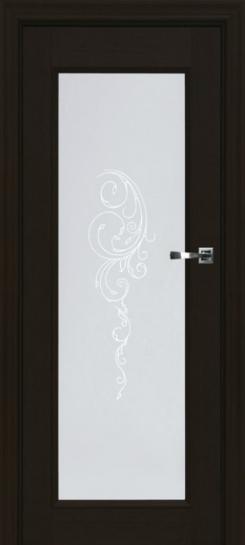 """Дверь """"Брама"""" (Украина), цвет венге. Я как увидела название, поняла, что надо брать. На стекле ещё красивая загогулина"""