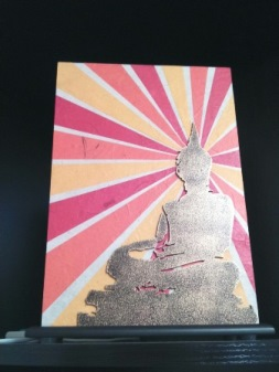 """Светильник """"Будда"""", куплен в Select City Mall, Saket, New Delhi"""