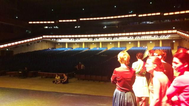 Так выглядит зрительный зал со сцены
