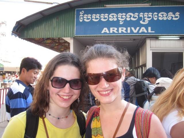 Переходим камбоджийскую границу