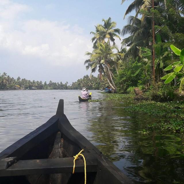 Река Памба, 35 м глубиной