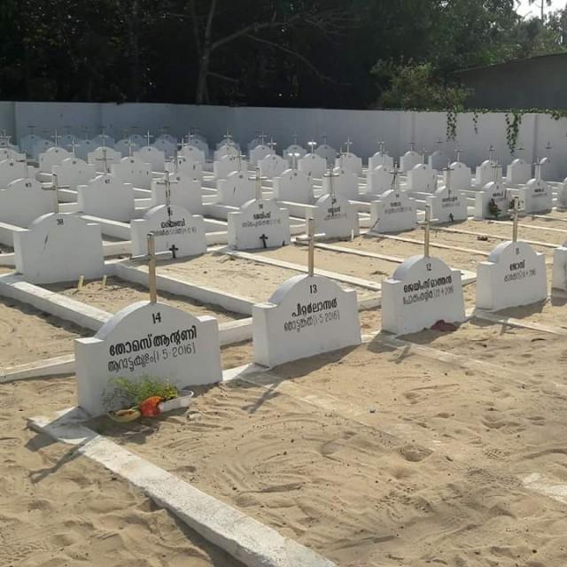 Новое кладбище. Большинство мест еще вакантны