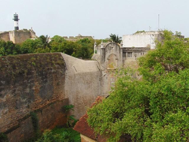 В португальской крепости