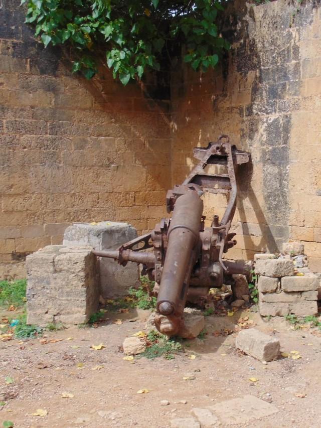 Португальские пушки больше не стреляют