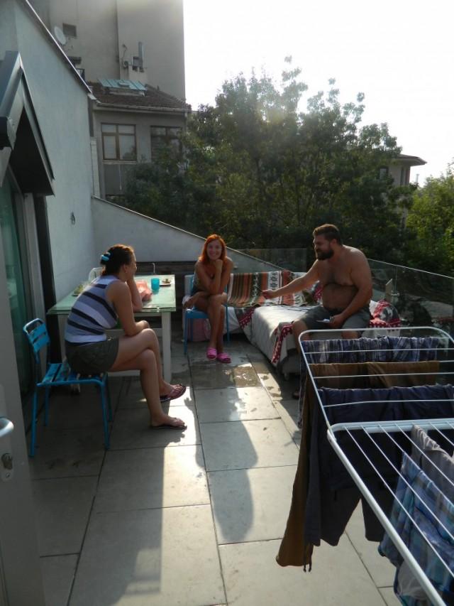 Терраса системы балкон