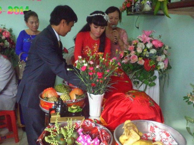 Золото достает невеста