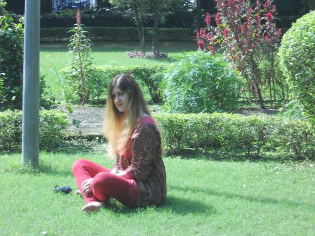 В садике