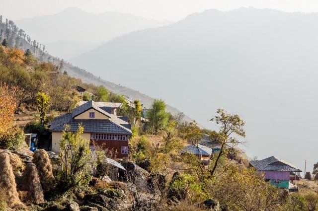осень в Химачале