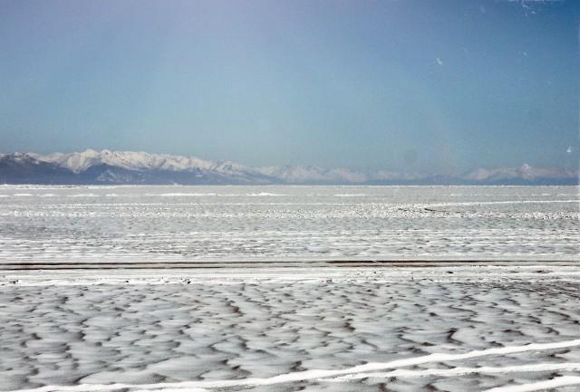 Это прямо кончик Байкала, самый север.