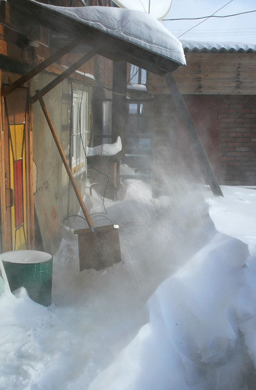 снежная пыль